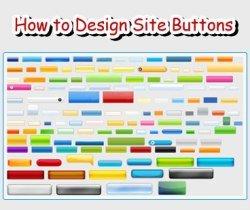 Design Site Buttons