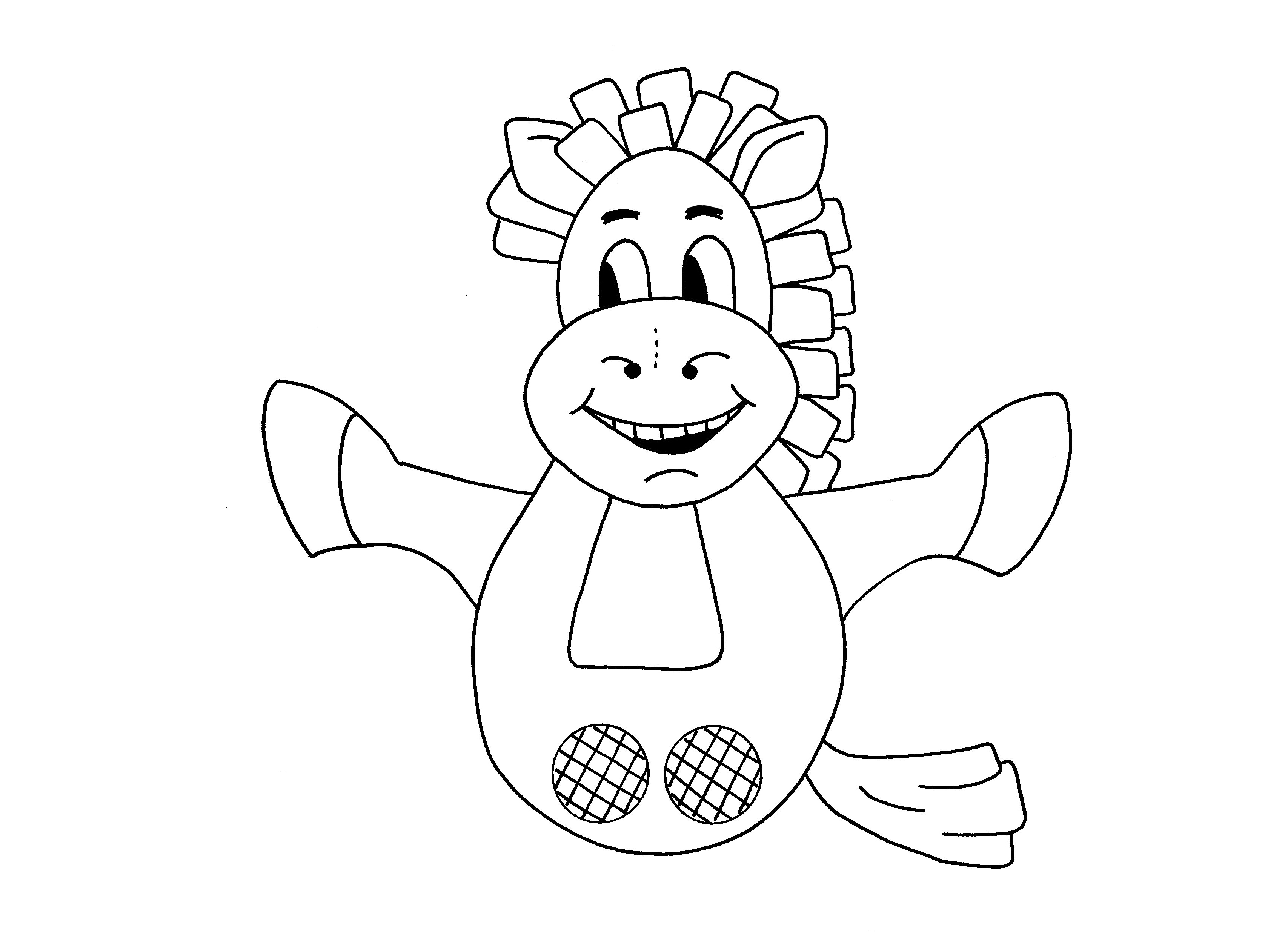 Hand Puppet Horse Pages Coloring Pages