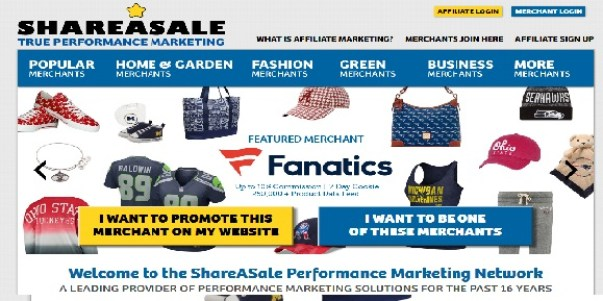 ShareASale - Best Affiliate network program in india and world