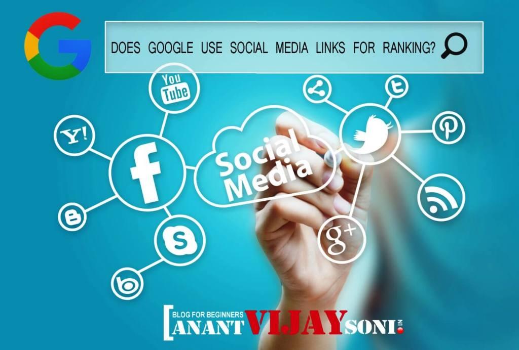 Does Google Use Social Media Links for Ranking?