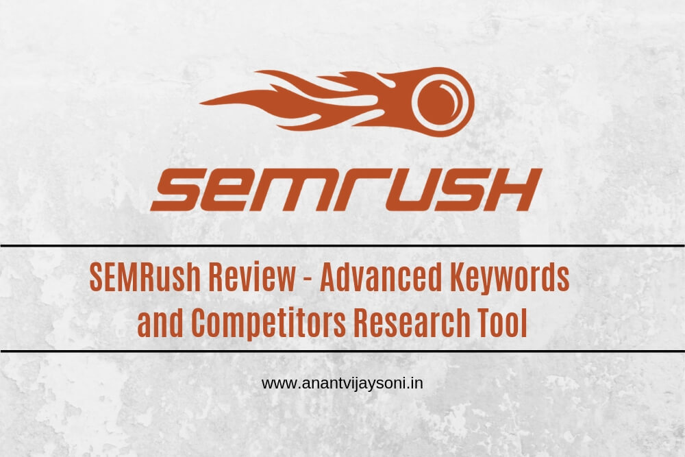Box Semrush  Seo Software