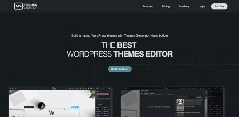 Theme Generator - Best WordPress Theme Editor