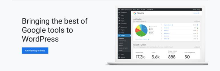 Site kit by Google - Must have WordPress Plugin