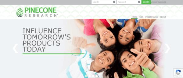 Pinecone Research - Best Survey Website
