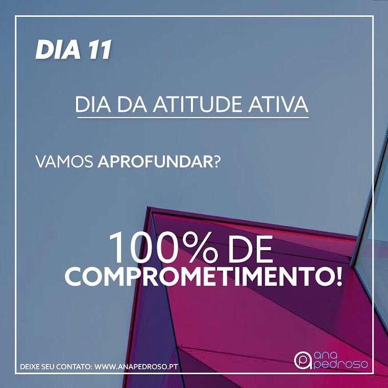 #11 Dia | DIA DA ATITUDE ATIVA