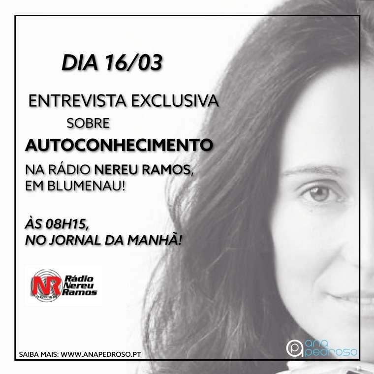Autoconhecimentos Ana Pedroso Entrevista
