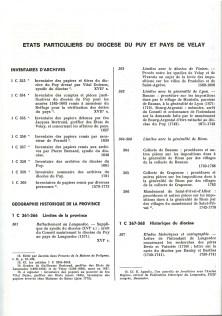 Répertoire numérique détaillé de la sous-série 1C, Yves Soulingeas, AD43