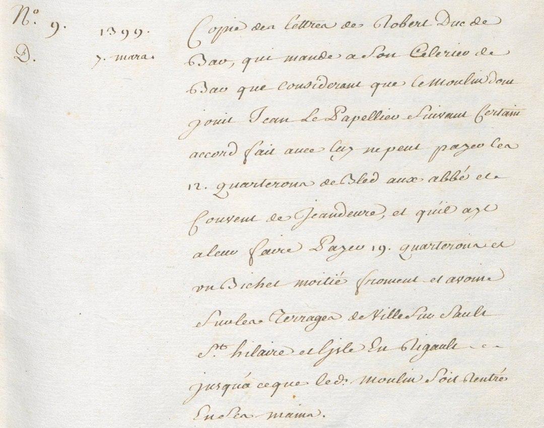 Extrait de l'inventaire de Lancelot (B 436)<em data-recalc-dims=