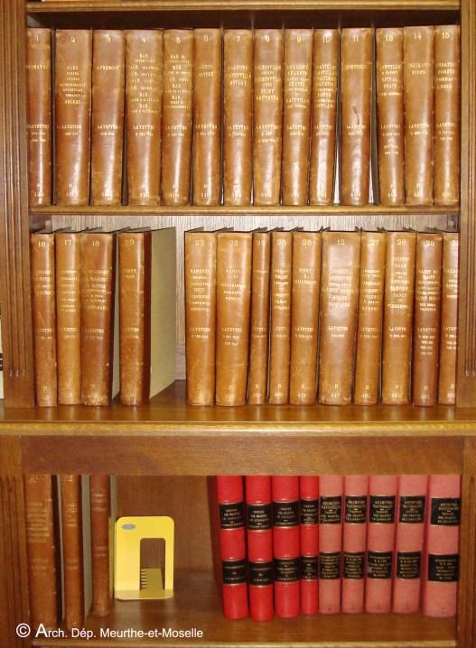 Les 33 volumes de l'inventaire de Lancelot suivis des tables de l'inventaire de Dufourny