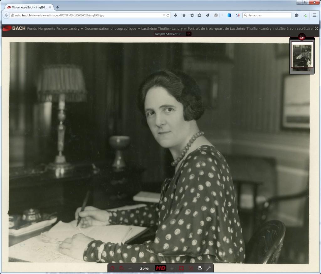 Image sur le site d'origine après un clic sur la vignette à partir du portail européen des archives