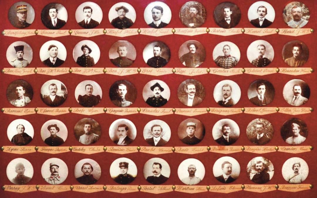 La participation d'Anaphore au centenaire de l'armistice de 1918 Part 2 Les poilus barbentanais morts lors de la Grande Guerre