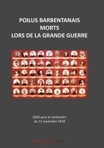 Couverture de l'album Poilus barbentanais morts lors de la Grande Guerre