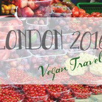 Wegański Londyn / Vegan London 2016 - Borough Market, Yorica, Wild Food Cafe.