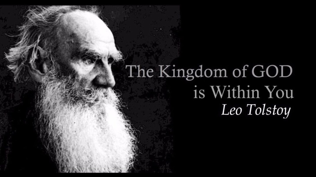 ผลการค้นหารูปภาพสำหรับ leo tolstoy the kingdom of god is within you book