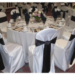 Chair Covers For Parties Ball Chairs Office Satin Cover With Sash Party Rental San Diego Vista Ca