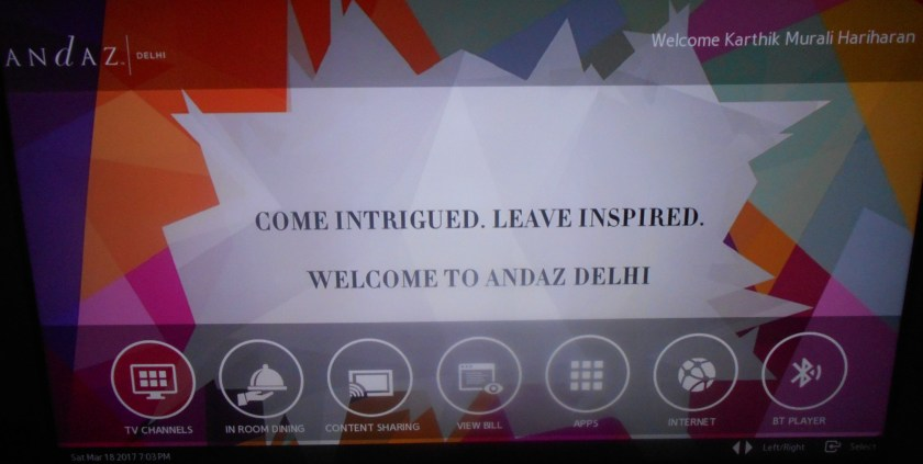 Andaz Delhi Hotel Review