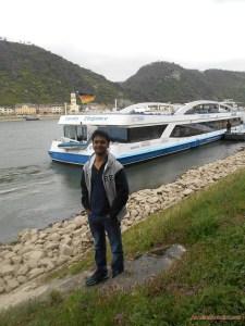 Rhine river cruise germany Euro tour