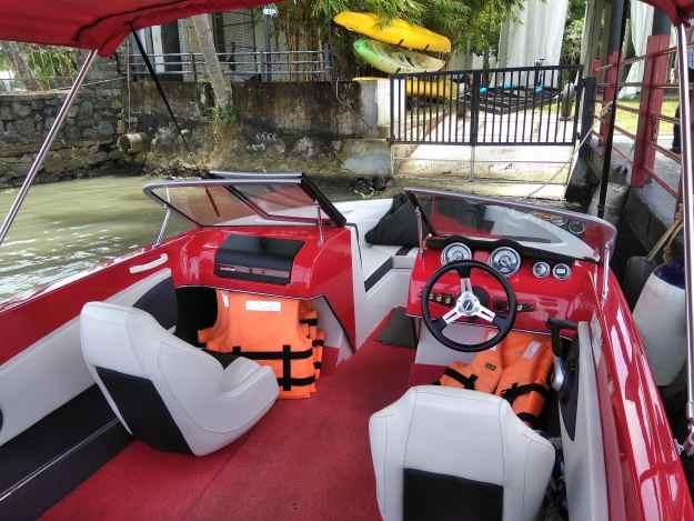 cochin speed boat ride