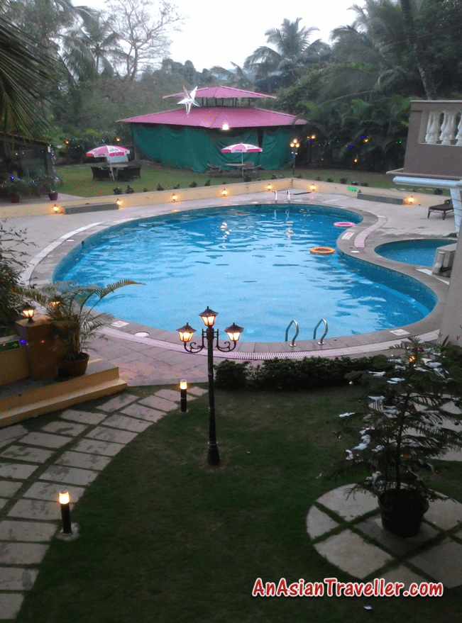 Sukhmantra goa resorts swimming pool