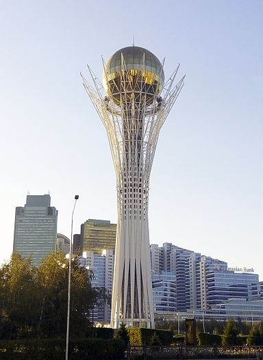 Bayterek Tower Kazakhstan