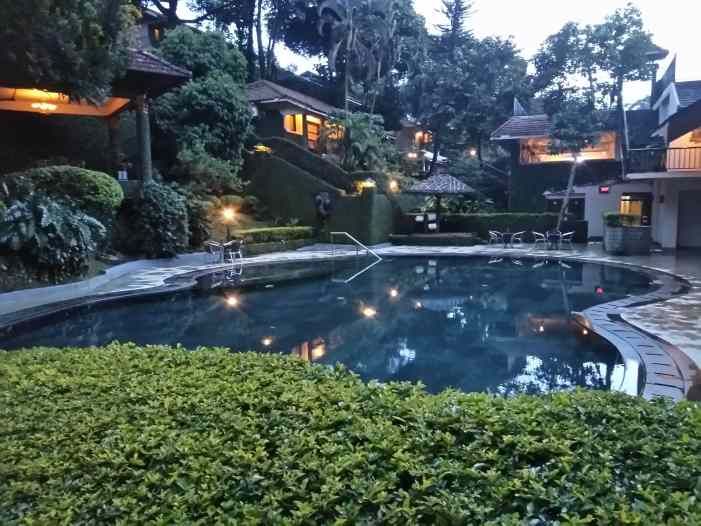 Swimming pool cardamom county thekkady