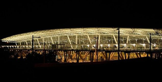 Chennai International airport night view