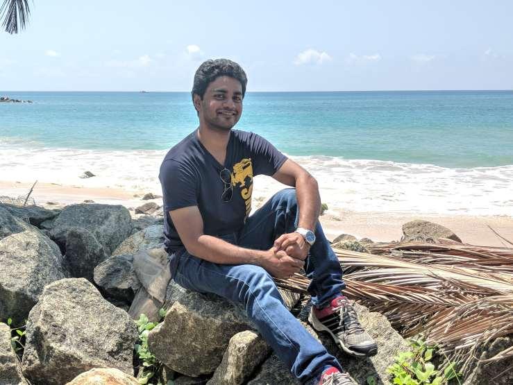 Portrait picture in SriLanka
