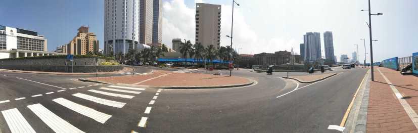 Colombo city panorama