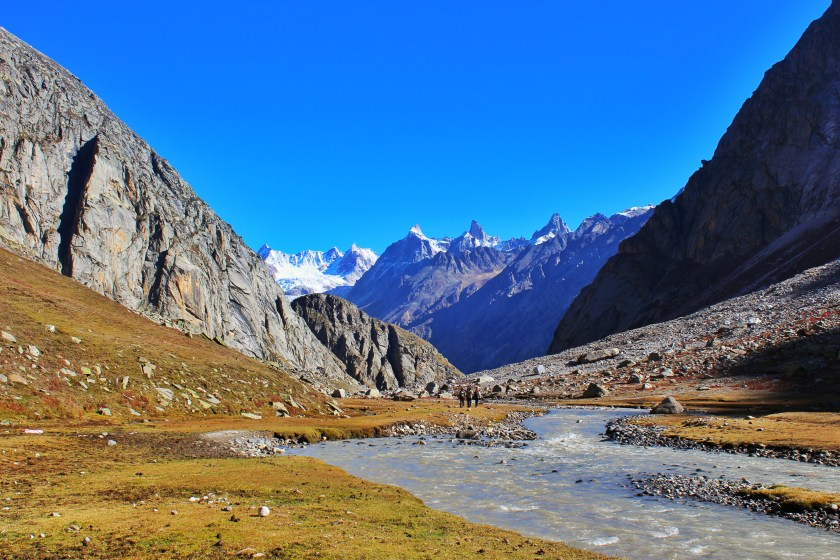 Hampta Pass trek Himalayas