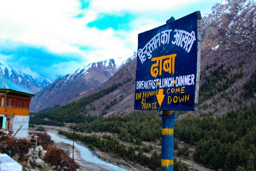 Chitkul Himalayas Food Options