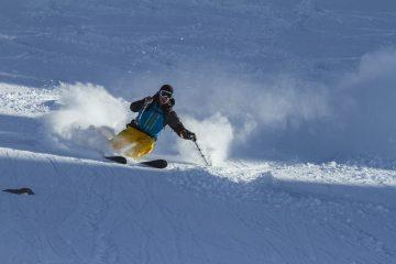 Skiing in NewZealand