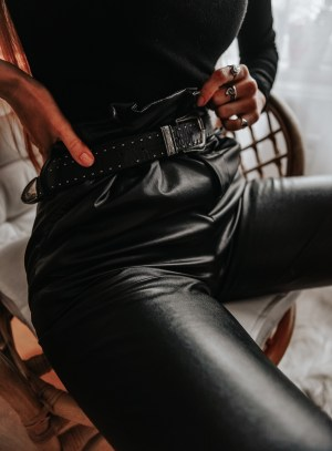 Shein Leather Pants