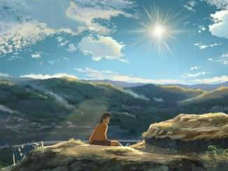 """Ghibli-Stil und Shinkai-Atmosphäre: """"Children who chase lost voices from deep below"""" synthetisiert Elemente aus beiden Welten - inhaltlich bleibt sich Shinkai letztlich aber doch treu. (Grafik: Sentai Filmworks)"""