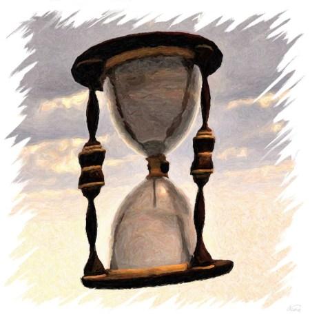Die Zeit vergeht ... aber wie? (Grafik: Martin Dühning)