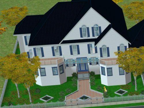 Auch die Sims-Häuser aus der Zweierversion wirken aus heutiger Sicht eher wie Pappschachteln.