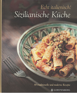 """Cover des Bildbands """"Sizilianische Küche"""" aus dem Gerstenberg Verlag"""
