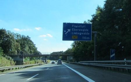 Vorbei an Finowfurt und Eberswalde (Foto: Martin Dühning)