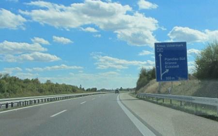 Autobahn durch die Uckermark (Foto: Martin Dühning)