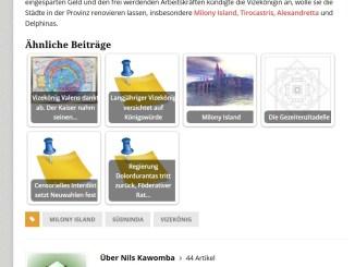"""Die Funktion """"Ähnliche Beiträge"""" auf Anastratin.de versucht, Lesern mit einer Auswahl themenverwandter Artikel beim Finden zu helfen. Dadurch entsteht aber auch eine Filterblase."""