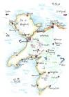 Die langen Wege nach Caernarfon