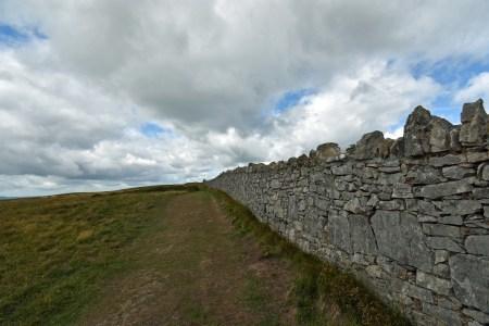 Windmauer auf dem Great Orme (Foto: Martin Dühning)