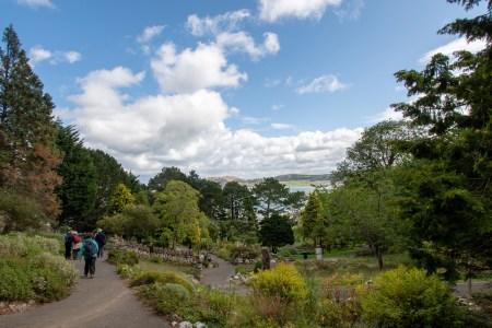 """Durch den botanischen Garten, weiter Richtung """"Happy Valley"""" (Foto: Martin Dühning)"""