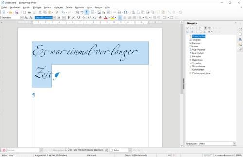 Opentype-Ligaturen funktionieren in LibreOffice schon länger, aber intuitive Menüpunkte dafür fehlen auch in Version 6.4 noch.
