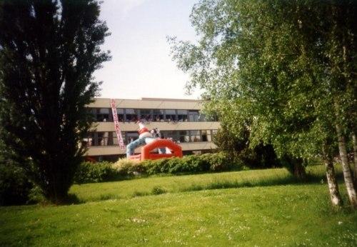 ABI-Streich 1993 am Klettgau-Gymnasium (Foto: Martin Dühning)