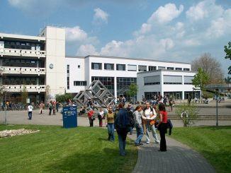 Pädagogische Hochschule in Freiburg vor 20 Jahren (Foto: Martin Dühning)