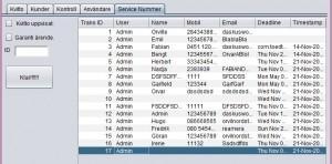 Binding jTable with Database