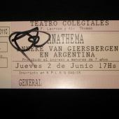 Tickets y Flyers de Anathema & Duncan Patterson