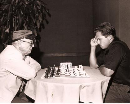 Windom playing Adam Baldwin, Los Angeles, 1988 - Anatoly Karpov Chess School image