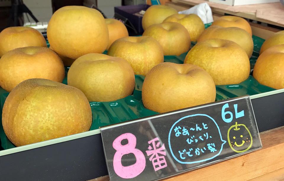 斑鳩(いかるが)町 吉本果樹園の梨