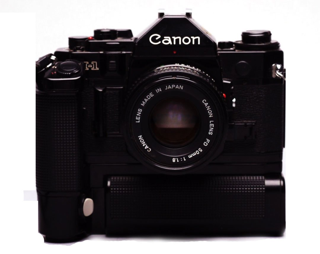 Canon A-1 with MA Motor Drive